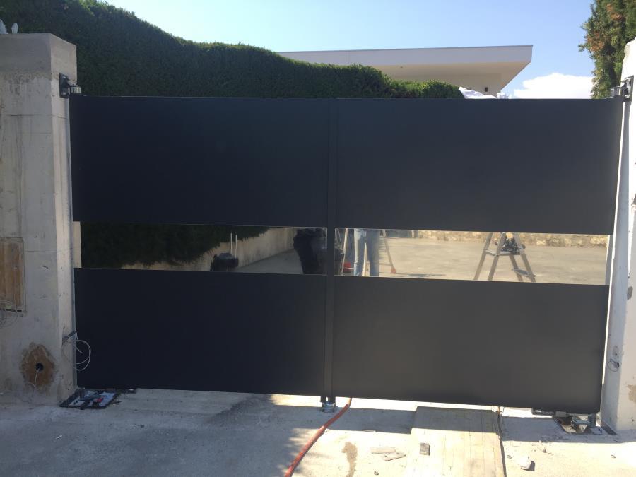 Realizzazione cancello in acciaio