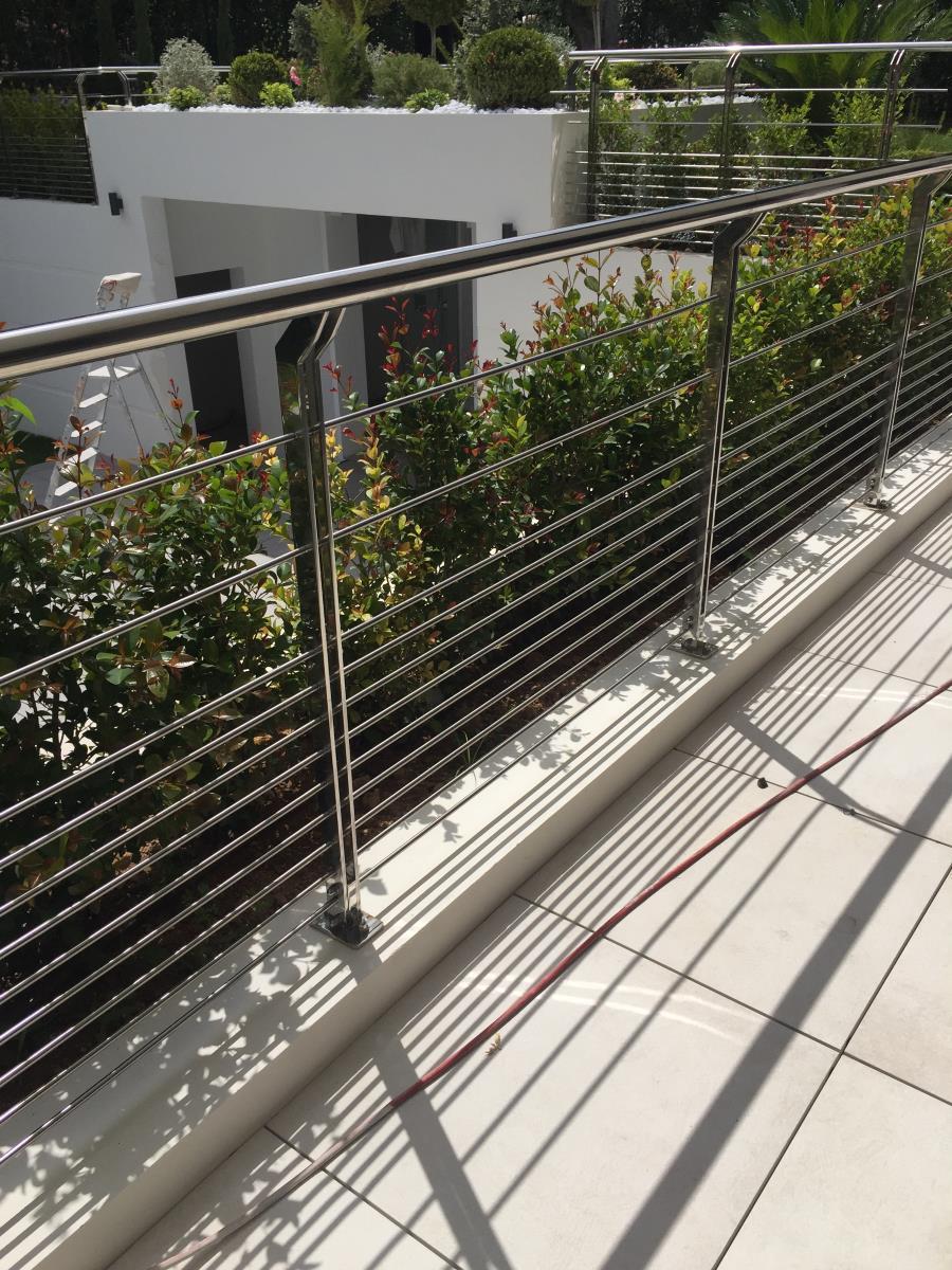 Parapetti esterni inox terrazzo
